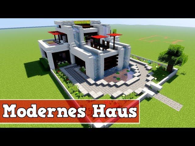 Minecraft Modernes Haus Bauen Wie Baut Man Ein Modernes Haus In - Minecraft grobes haus bauen anleitung