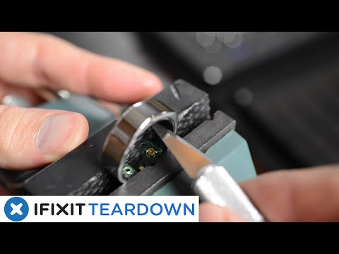 Oura Ring 2 Teardown: Inside the NBA's COVID-19-Detecting Smart Ring