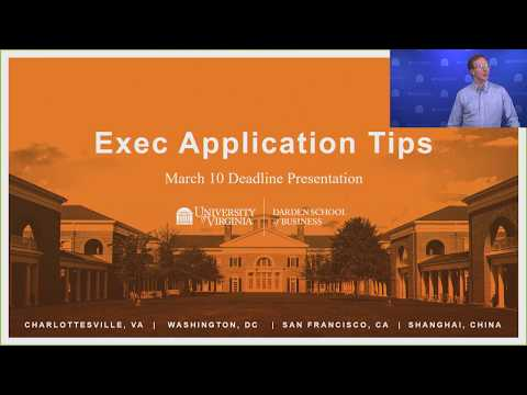 Exec Application Tips - March 2018