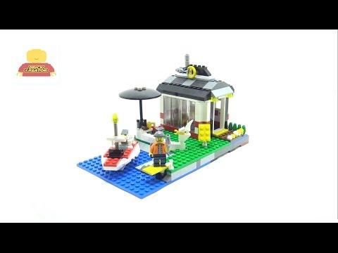 Vidéo LEGO Creator 5770 : L'île du phare
