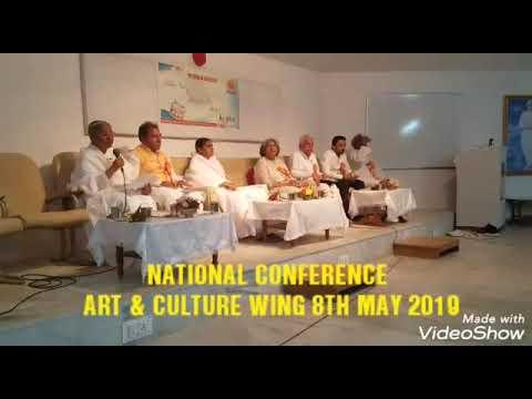 as a guest speaker in Art n culture wing conf