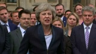 Dissecting British PM Theresa May's new role