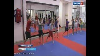 Юных воспитанников чебоксарского клуба «Феникс» тренируют титулованные спортсмены