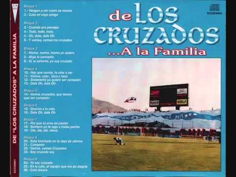 """""""DE LOS CRUZADOS A LA FAMILIA"""" Barra: Los Cruzados • Club: Universidad Católica"""