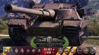 World of Tanks FV217 Badger - 1vs8 - 10 Kills - 8.4k Damage [Gameplay|HD]