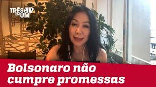 Thaís Oyama: Nova polarização em torno de Bolsonaro será entre capitais e interior