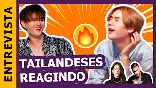 ATORES TAILANDESES DE BL REAGEM À MÚSICA LATINA Feat. OXQ (CNCO, Rosalía, J Balvin)