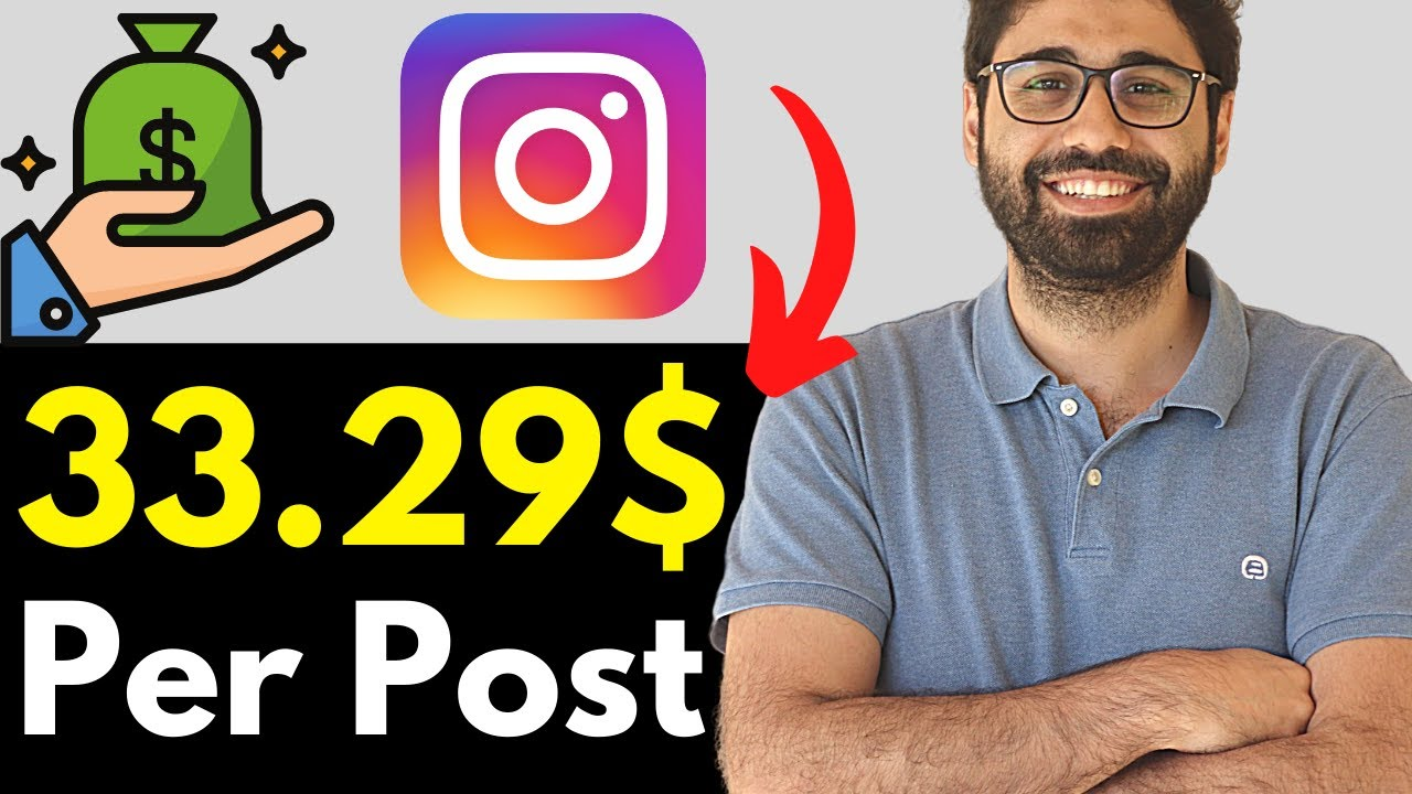 Make 33.29$ Per Post - The Most Convenient Method To Earn Money Online With Instagram. thumbnail