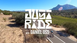 Daniel Oss chased by a racing drone