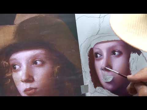 Der Junge mit Hut  nach M.Sweerts von Herdin Radtke