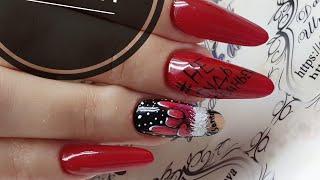 Не для слабонервных  Смелый дизайн ногтей  Дизайн в стиле поп арт