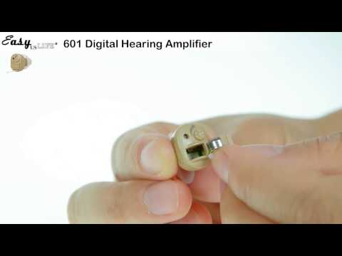 Digital Hearing Aid Amplifier, In The Canal ITC  EZ 601/601F  Energy save, FDA Approved ,Easyuslife@