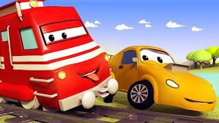 Поезд Трой -  ПОЛИЦЕЙСКИЙ Мэт приболел и не может угнаться за ЛИХАЧОМ - детский мультфильм
