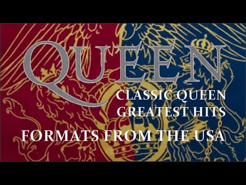 [421] Classic Queen and Greatest Hits Formats from the USA (1992)