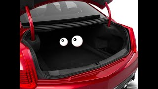 HOW TO UNLOCK YOUR TRUNK WITHOUT A KEY ON A 2008 2013 CADILLAC CTS