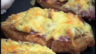 Minipizza de bacon y champiñones | Javier Romero