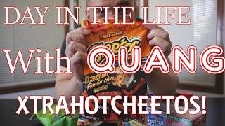 QT| MY LIFE| XTRA HOT CHEETOS
