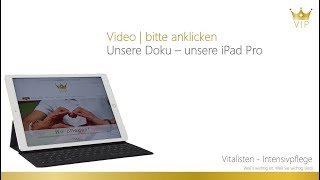 iPad Pro kommen für unsere Doku