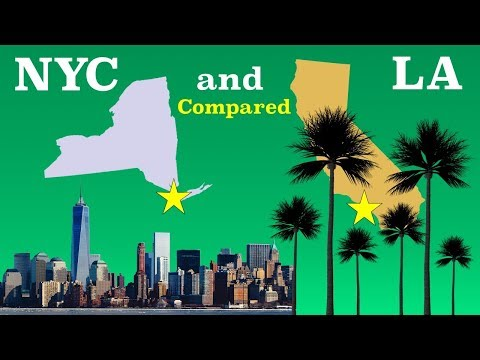 New York City and Los Angeles Compared