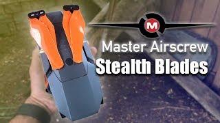Master Airscrew Stealth Propellers VS Dji Mavic Blades - REVIEW