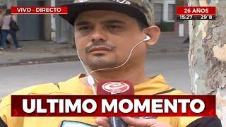 En pleno móvil de Crónica HD amenazaron a otra víctima de los rugbiers asesinos