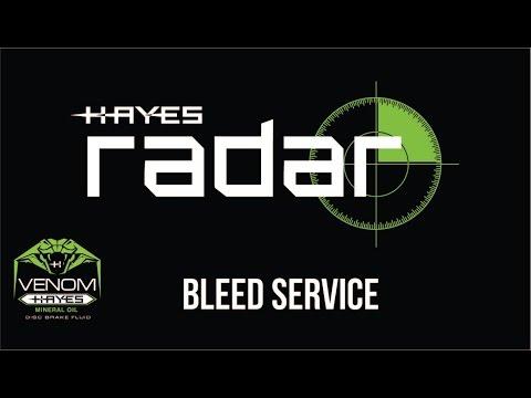 Inbetriebnahme des Hayes Pro Bleed Kits und Entlüftungsvorgang am Beispiel der Hayes Radar Scheibenbremse