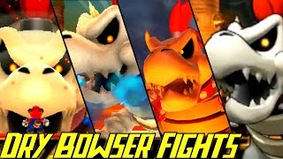 Evolution of Dry Bowser Battles (2006-2016)