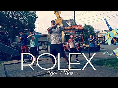 download ayo and teo rolex official video