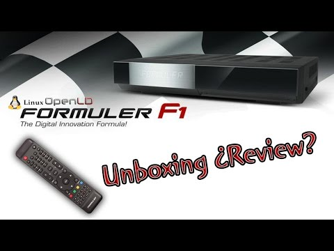 Unboxing ¿Review? - Formuler F1