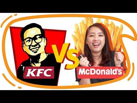 KFC vs McD !! Mari Kita Bandingkan !