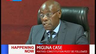 MIGUNA CASE: Court through Judge Mativo issues fresh orders on Miguna Miguna case