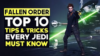 STAR WARS JEDI: Fallen Order - TOP 10 TIPS & TRICKS Every Jedi Should Know (Beginner's Guide)