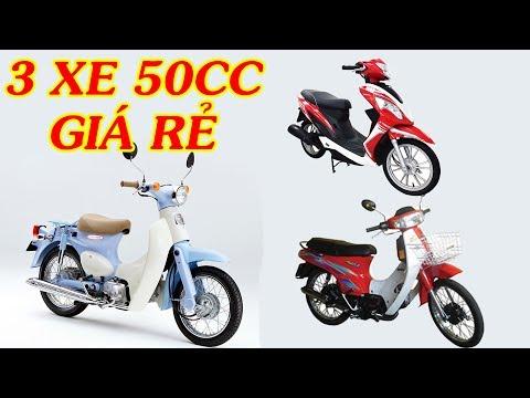 Xe Channel - Ba dòng xe máy 50cc giá rẻ