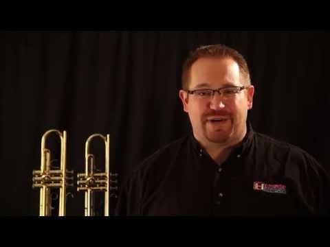 Bach TR-300H2 Trumpet vs. LJ Hutchen #4218 Trumpet Comparison and Review