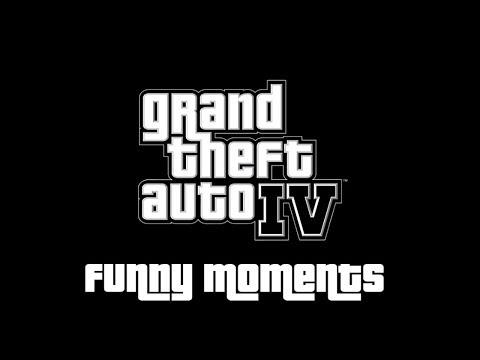 GTA 4 - Funny moments   SK