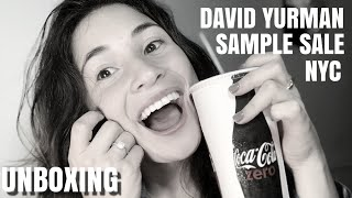 DAVID YURMAN UNBOXING | HUGE SAVINGS | SAMPLE SALE GOING ON TILL 10.14.18