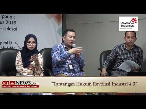 VIDEO: Tantangan Hukum Revolusi Industri 4.0 (Bagian 1)