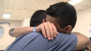 Fathers, children reunited at Charlotte County prison
