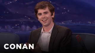 Freddie Highmore Found Killing People On Bates Motel Cathartic  - CONAN On TBS