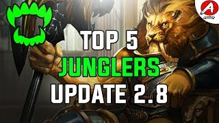 Vainglory Top 5 Heroes To Play Update [2.8] - Jungle Edition/Vainglory 2.8 Tier list