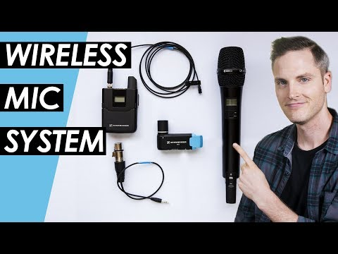 Wireless Microphone System Setup – Sennheiser AVX Wireless Mic Review
