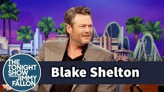 Blake Shelton Nearly Puked on Jimmy's Tonight Show Ride - dooclip.me