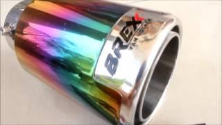 TAILPIPE BREXX  CASSING RAINBOW (TK MC-3015-BCR)