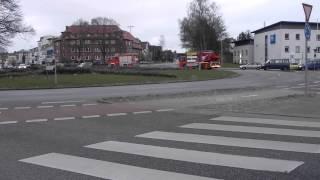 preview picture of video 'Feuerwehr Lübeck Wache 2 Einsatzfahrt'