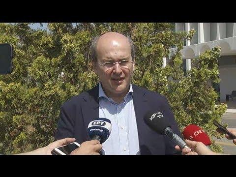 Κ. Χατζηδάκης: Η επίσκεψή μου στην Κρήτη έχει «πράσινο» χρώμα