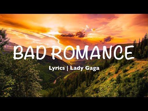 Bad Romance - Lady Gaga (Lyrics)