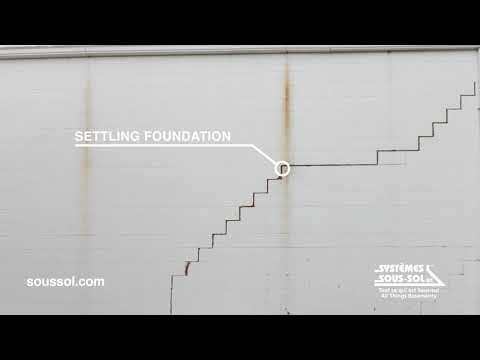 Systèmes Sous-sol Québec | Foundation problems don't get better with time
