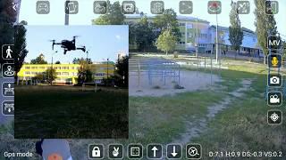 L109 Pro GPS 2 Axis Gimbal FPV Camera Drone First Flight frustration. Разочарование