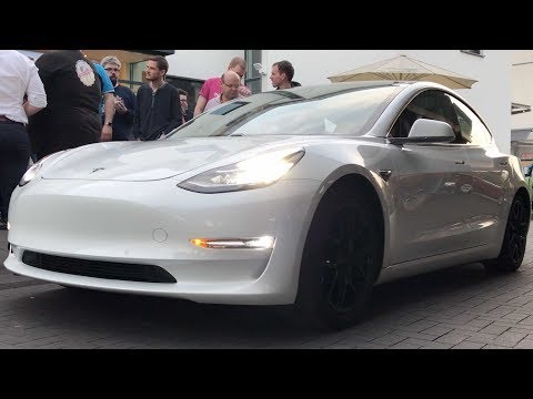 Tesla Model 3 in Deutschland! You You Xue EU-Roadtrip, Drohnen Aufnahmen, 4K UHD