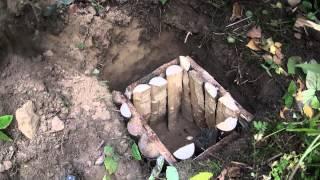 Как сделать схрон в лесу